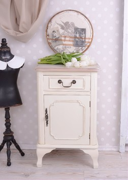 nachttische schr nke villa landliebe shabby chic. Black Bedroom Furniture Sets. Home Design Ideas